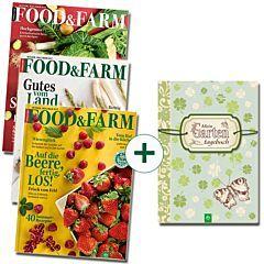 FOOD & FARM 3er-Set: Ausgaben 01/20 - 03/20