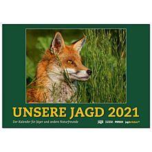 unsere Jagd  Wandkalender 2021