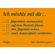 10er-Set Postkarte - Jägerlatein