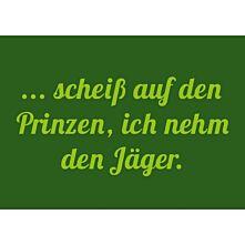 """Postkarte """"Scheiß auf den Prinzen..."""" - 10er-Set"""
