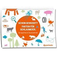 """agrarheute Dauerkalender """"25 Fakten"""""""
