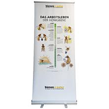 Das Arbeitsleben der Honigbiene Roll-Up 85x200 cm