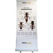 """""""Die drei Bienenwesen"""" Roll-up 85X200 cm"""