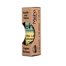 Lippenbalsam mit Vanille und Kakao
