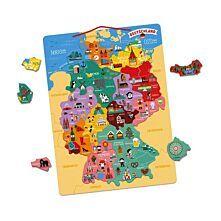 Magnetische Landkarte Deutschland