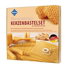 Bienenwaben-Kerzenbastelset