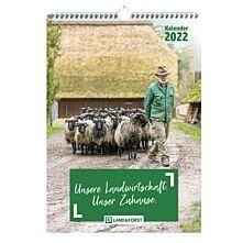 LAND & FORST Wandkalender 2022