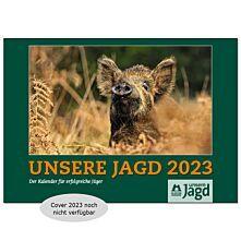 Unsere Jagd Wandkalender 2023