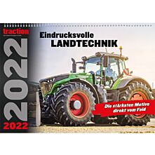 traction Wandkalender 2022