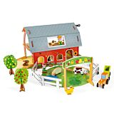 Story Bau-Set Bauernhof mit Tieren