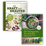 """Buch-Paket """"Kraft der Kräuter"""" und """"Salatgarten"""""""